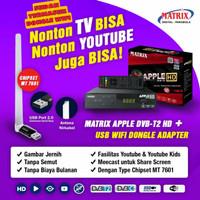 set top box dvbt2 matrix apple hd antena tv digital plus dongle wifi