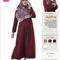 Rabbani Dresslim Adelva Gamis Baju Muslim Wanita