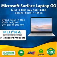Microsoft Surface Laptop GO Intel i5 128GB RAM 8GB Garansi 1 Tahun 128 - i5 128GB 8GB, Platinum