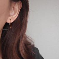 Meree - Rome Earrings Stainless Steel 316 Anting Wanita Tahan Karat - Gold