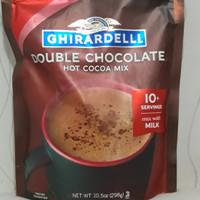 GHIRARDELLI PREMIUM HOT COCOA DOUBLE CHOCOLATE 298gr