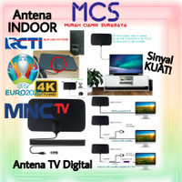 Antena TV Digital Indoor Sinyal Kuat Anten Televisi Antena TV