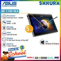 Asus BR1100FKA-BP0410 -Intel N4500 -4 GB RAM-128 GB eMMC-WIN10-11 FLIP