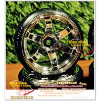 ban dan velg RC drift 4 pcs set Hsp tamiya wpl d12 sakura Universal