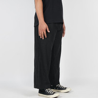 Daily Outfits Celana Linen Pria Ankle Cropped Pants Unisex Premium - All Size