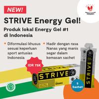 STRIVE Energy Gel Rasa Nanas 1 Box isi 5 Sachet