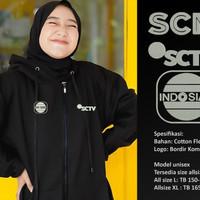 jaket sctv indosiar rcti metro tv mnc antv hoodie premium