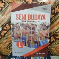 buku seni budaya kelas 7 SMP Erlangga
