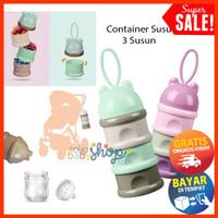 Container Susu Bayi Tempat Susu Wadah Susu Milk Powder Container COD
