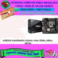 ASROCK H310CMHDV LGA1151, H310, DDR4, USB3.1, SATA3