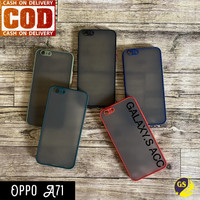 OPPO A71 2018 SOFT CASE DOVE MATTE ARMOR COLORED FROSTED - Hijau