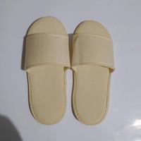 Sandal Rumah Depan Terbuka I Sandal Lantai Cream Murah