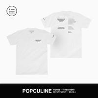 T-SHIRT POPCULINE // MENTAL HEALTH AWARENESS // WHITE