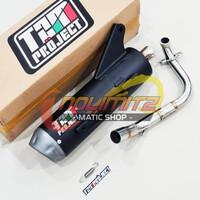 Knalpot Standar Racing Tsukigi TZM Project Beat FI Scoopy FI Vario FI