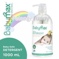 BABYMAX Premium Natural Baby-Safe Detergent Botol 1000ml (1 Liter)