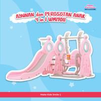AYUNAN & PEROSOTAN ANAK WM19011 - Merah Muda