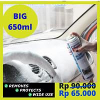 Pembersih jok plafon doortrim dashboard interior mobil terbaik-650ml