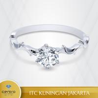 Cincin Emas Wanita TU0028 | Centro Jewellery