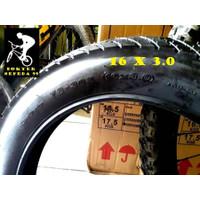 PAKET BAN LUAR 16 X 3.0 DAN DALAM SEPEDA BMX FAT