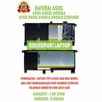 BATERAI ASUS A455 X455L X455LA X455LD A455L A455LA C21N1409 ORI