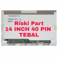 LED LCD LAPTOP SAMSUNG NP355 NP355V4X NP355E4X 14 INCH TEBAL