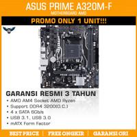 ASUS PRIME A320M-F mATX AM4 DDR4 MOTHERBOARD MAINBOARD AMD