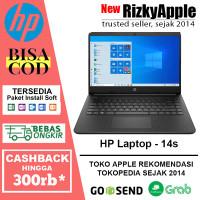 "HP Laptop 14s AMD Athlon™ Silver 3050U 4GB 128GB SSD WIN10 14"" HD"