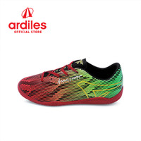 Ardiles Kids Candreva FL Sepatu Futsal - Merah Hijau Citrun