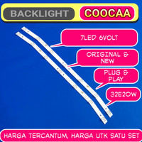 lampu backlight tv led coocaa 32e20w original