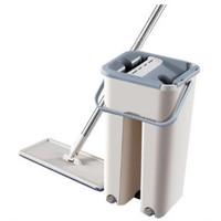 Alat Pel Super Auto Magic Mop Flat Microfiber with Bucket