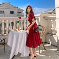 Dress Wanita Vintage Style Import - 71623 SSB