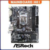 Mobo Intel LGA 1150 H81 Asrock