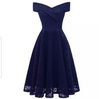 Dress Lofe - Dress Pesta Wanita Terbaru - Dress Brukat Wanita
