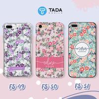 Custom Case HP - Iphone Samsung Oppo Vivo Xiaomi - Flower Series V
