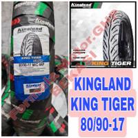 80/90-17 Kingland Tiger - Ban Motor Ring 17 Tubeless - Ban Motor Bebek