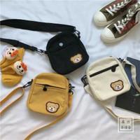 SLING BAG WANITA MINI TEDDY BEAR / TAS BAHU / TAS SELEMPANG KOREA STYL