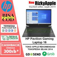 HP Pavilion Gaming Laptop 16 i5-10300H 8GB 512GB SSD GTX1660Ti