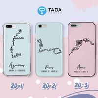 Custom Case HP - Iphone Samsung Oppo Vivo Xiaomi Redmi - Zodiac Series