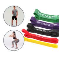Resistance Band Panjang / Power Band / Karet Fitness Gym Yoga Stretch