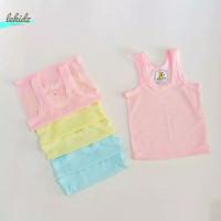 Kaos Baju Singlet Pakaian Tanktop Dalam Dalaman Anak Bayi Warna Katun