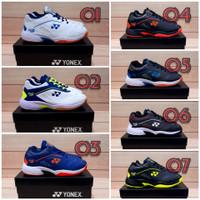 Sepatu Badminton / Sepatu Bulutangkis / Sepatu Olahraga Pria - 07 Hitam hijau, 39