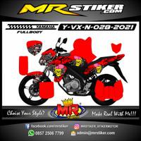 Decal Motor Yamaha Vixion New Fullbody Stiker motor Racing Modifikasi