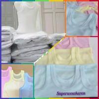 Baju singlet anak 1 lusin 0 - 5 tahun kaos dalam anak laki perempuan