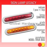 Lampu LED Aksesoris Variasi Marker Samping Sein Sign Mobil Truk Bus 03