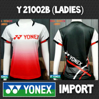baju kaos badminton bulutangkis cewek wanita yonex import y21003b