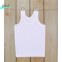 Kaos Baju Pakaian Singlet Tanktop Dalam Dalaman Anak Bayi Putih Katun