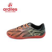 Ardiles Kids Candreva FL Sepatu Futsal - Orange Hitam