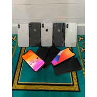 IPHONE X 64GB 256GB SECOND LIKE NEW MULUS 99% FULLSET GARANSI TOKO 7HA - 256 gb, BLACK