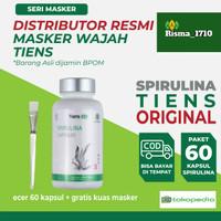 [Bisa Cod] Masker Spirulina Tiens Original 100% (isi 60 Capsul)