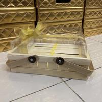 Keranjang Hantaran Bambu kue 30x30